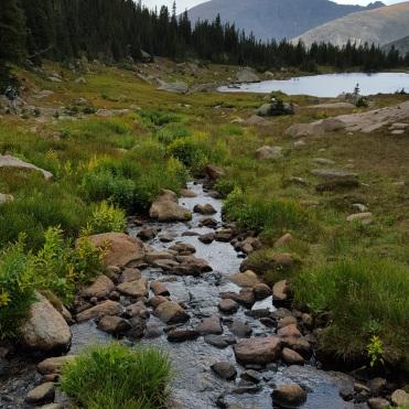 Lions lake & Copeland, Calypso, and Ouzel Falls via Wild Basin Trail-head RMNP